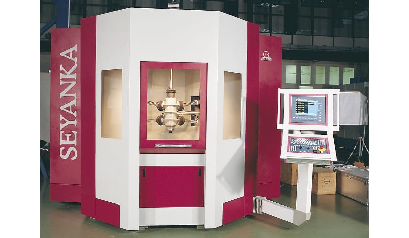 Seyanka - parallel kinetics machine tool