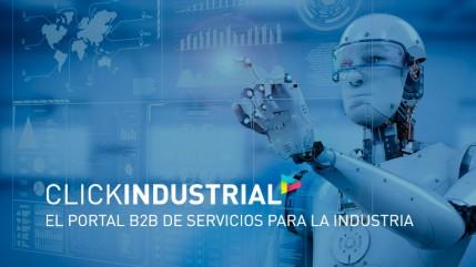 Clickindustrial, e-commerce, lineako salmenta, zerbitzuak, industria