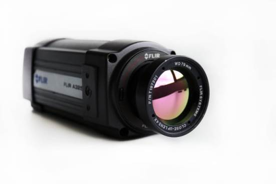 Flir A20M thermographic camera