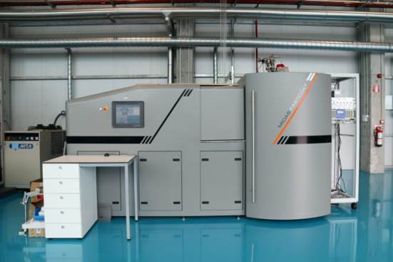 PVD MIDAS FASTCOAT coatings chamber