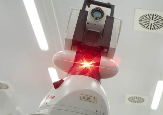 Laser tracker AT901 and AT402 (Leica)