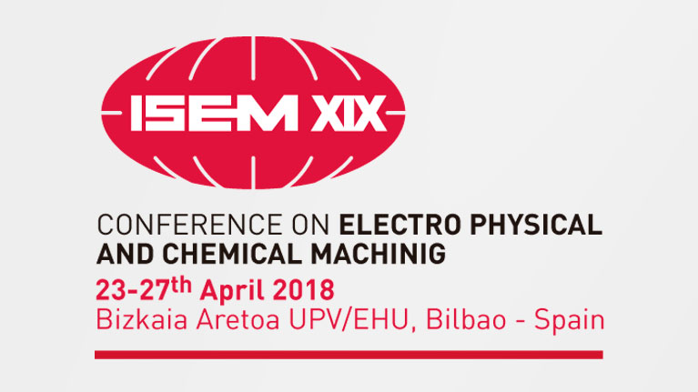 ISEM Conference, electrical discharge machining, manufacturing, machining