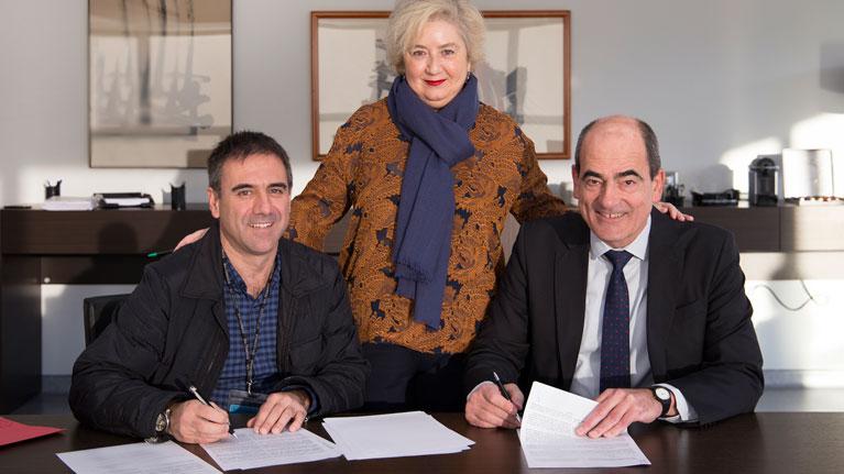 Agreement, Eibar town council, BIC Gipuzkoa, IK4-TEKNIKER, technological incubator, companies