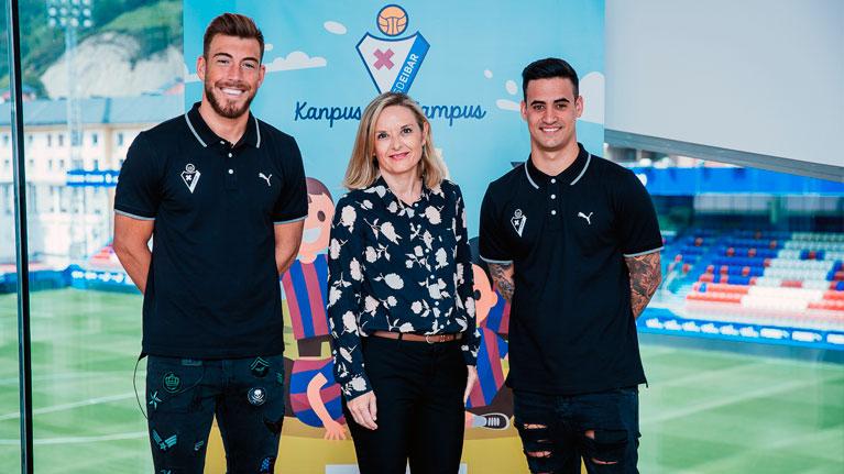 Sponsorship, campus, SD Eibar, football