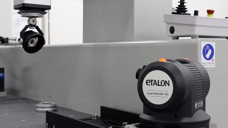 Metrology, laser, CMM, ENAC