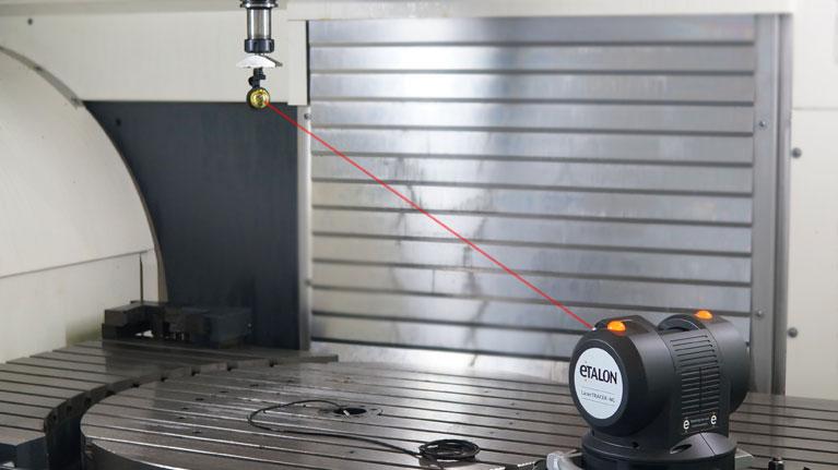 Machine tool, coordinate measuring machine, laser, metrology, measuring, inspection