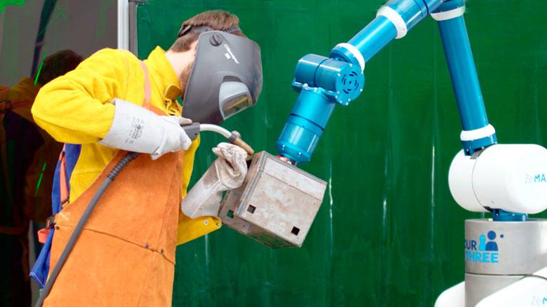Collaborative robots, industry, robots