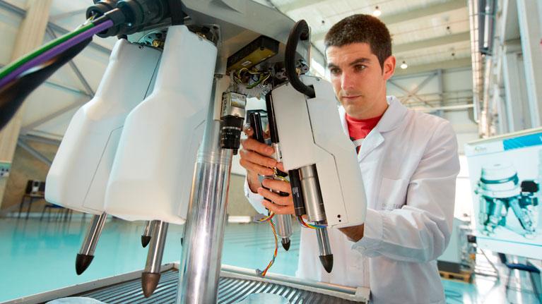 ETB, self-supporting machine tool, technology, robotics, industry