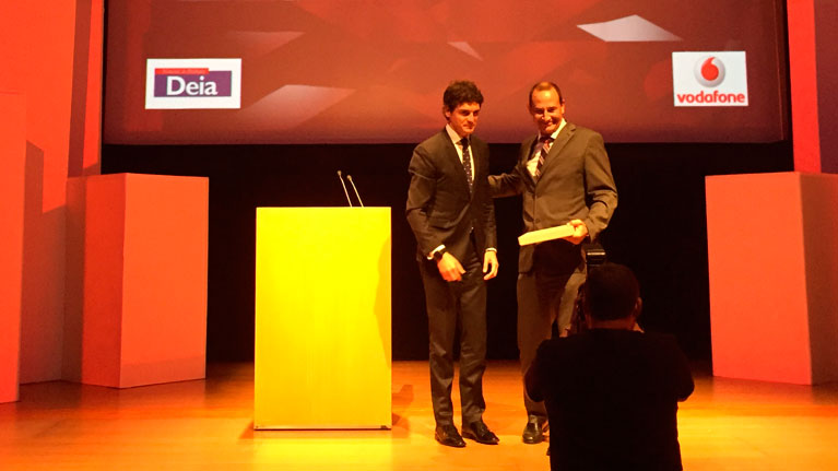 IK4 Research Alliance, Award, Vodafone, Deia, Innovation