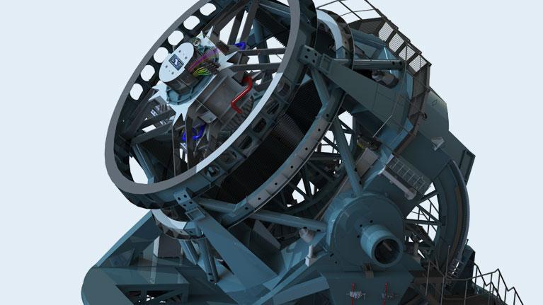 Telescope, the Large Synaptic Survey Telescope, LSST, Chile