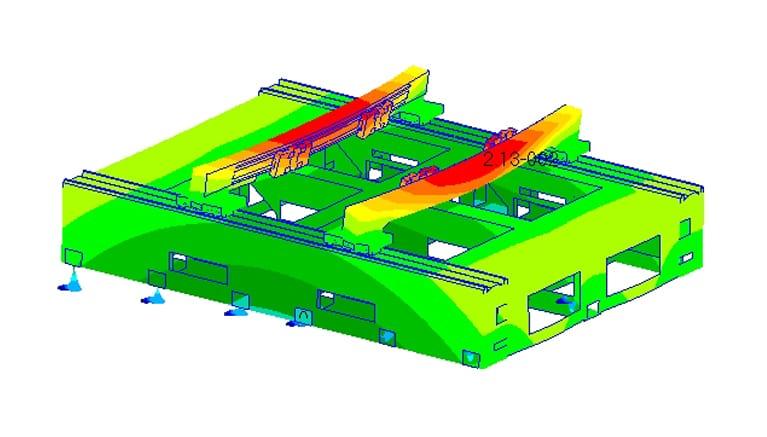 Machine tool simulation