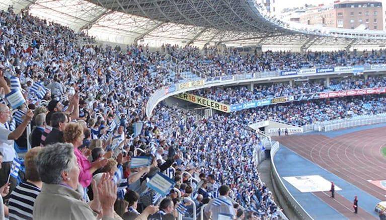 The Real Sociedad soccer stadium
