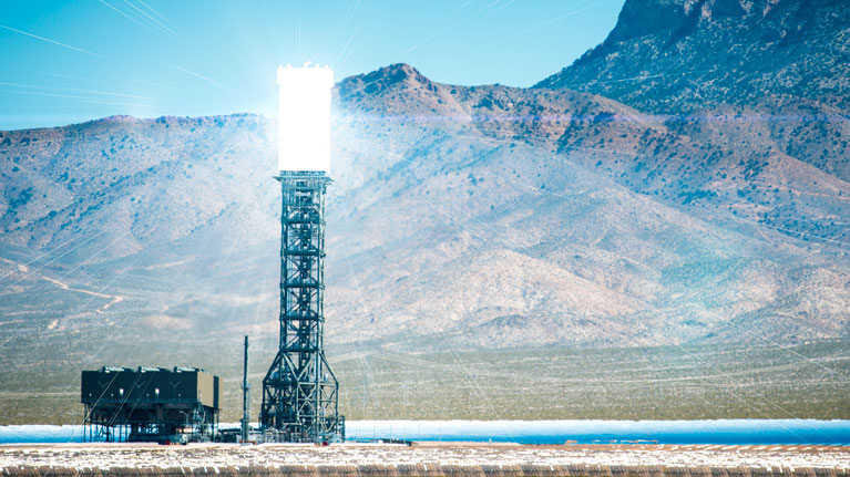 thermoelectric solar plant, heliostat, tower solar power plants