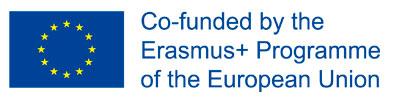 ERASMUS +: El presente proyecto ha sido financiado con el apoyo de la  Comisión Europea. Esta publicación (comunicación) es responsabilidad exclusiva de su autor. La Comisión no es responsable del uso que pueda hacerse de la información aquí difundida.