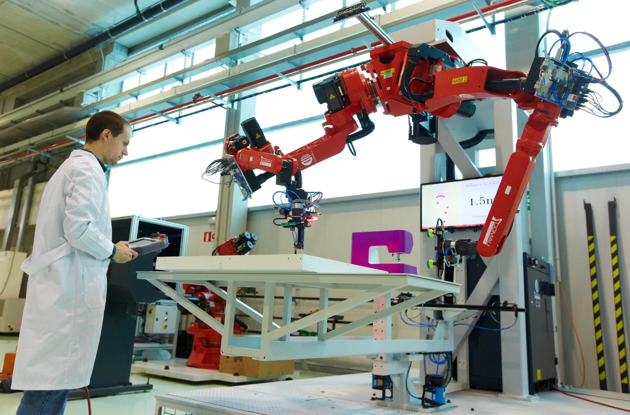 Robotica industrial y automatizacion