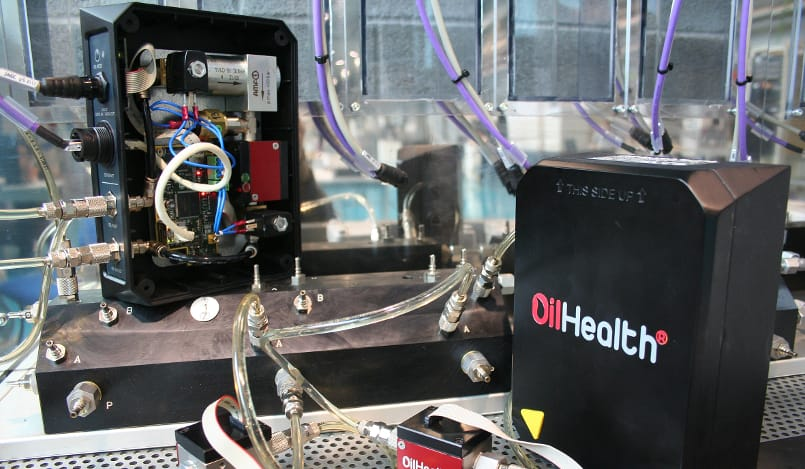 Sensors for measuring oil degradation: OilHealth® and OilWear®
