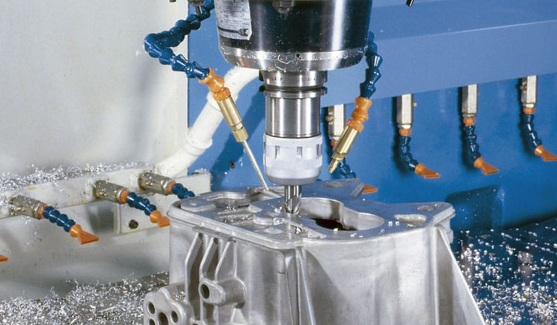 Milling machine with linear motors