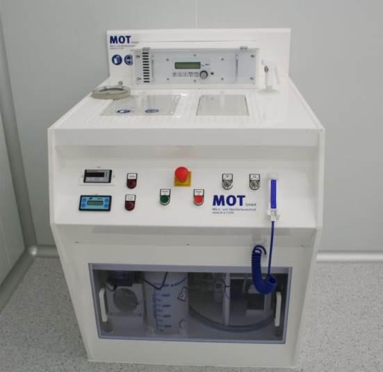 Baño de electrodeposición MOT µ-GALV