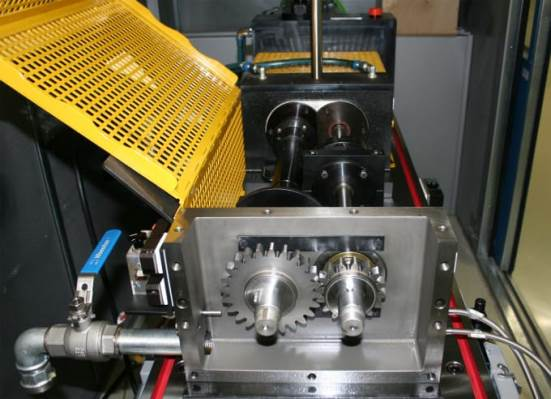 FZG gearbox test bench