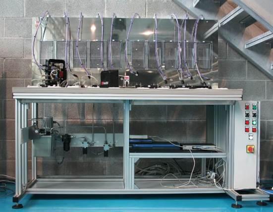 Banco de Ensayos Test Sensores On-Line de Fluidos