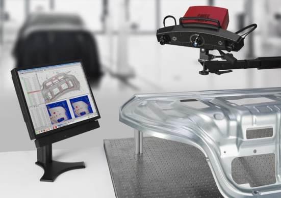 ATOS IIe digitized measuring system