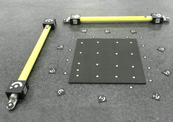 Fotogrametria bidez neurtzeko Tritop (GOM) sistema