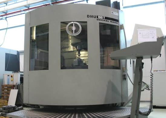 5-axes machining – Deckel-Maho DMU 100T