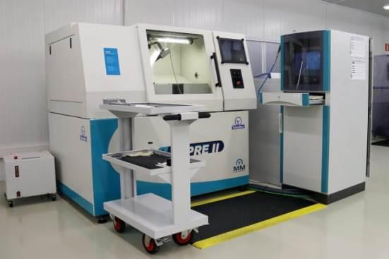 ULPRE II conventional micromilling machine