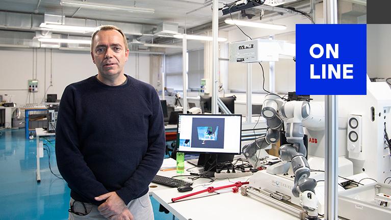 Tekniker Sharing Events, robotika kolaboratzailea, pertsona eta robot interakzioa