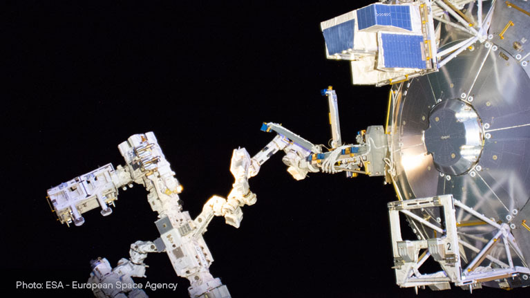 space, International Space Station, materials, DLC, PEO