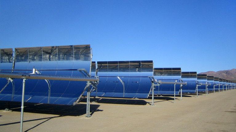 energía renovable, energía solar concentrada, plantas desalinizadoras