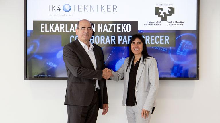 IK4-TEKNIKER, UPV/EHU, colaboración, investigación, talento