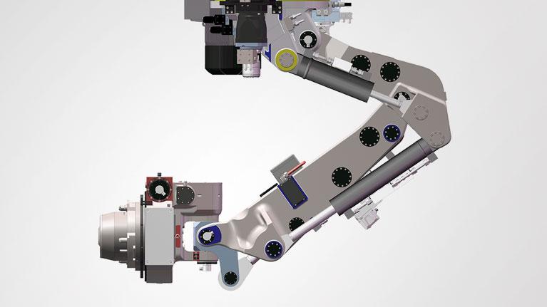 automatizazio prozesuak, robotika, beso robotikoa, Hércules proiektua