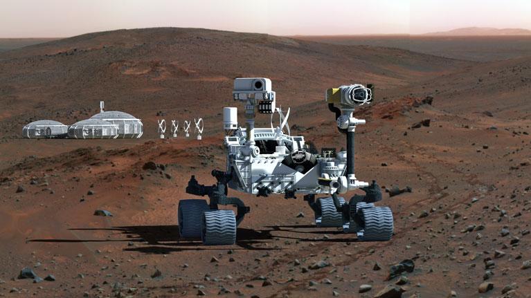 Tribología, Triboelectricidad, tecnología espacial, Marte, ESA