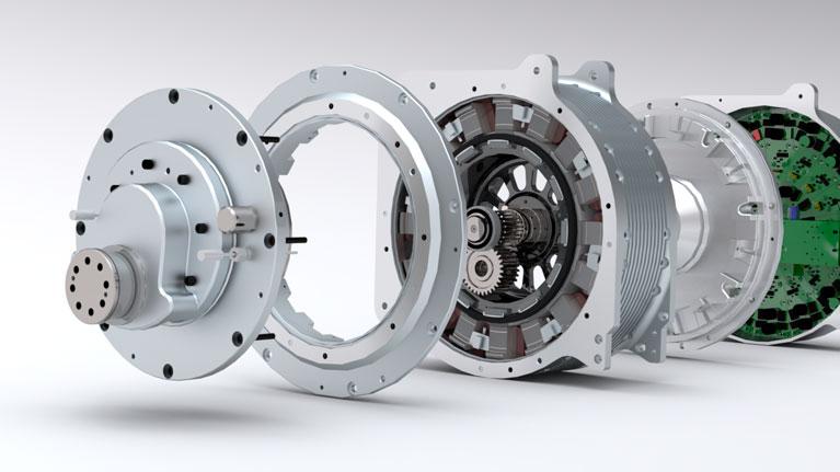Motor eléctrico, electrónica de potencia, Go Mobility, electromovilidad