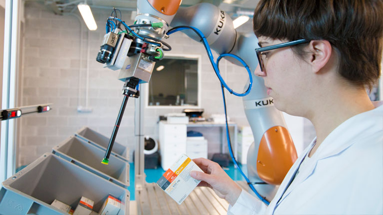 Robotika kolaboratiboa, industry 4.0, EUROC, saria