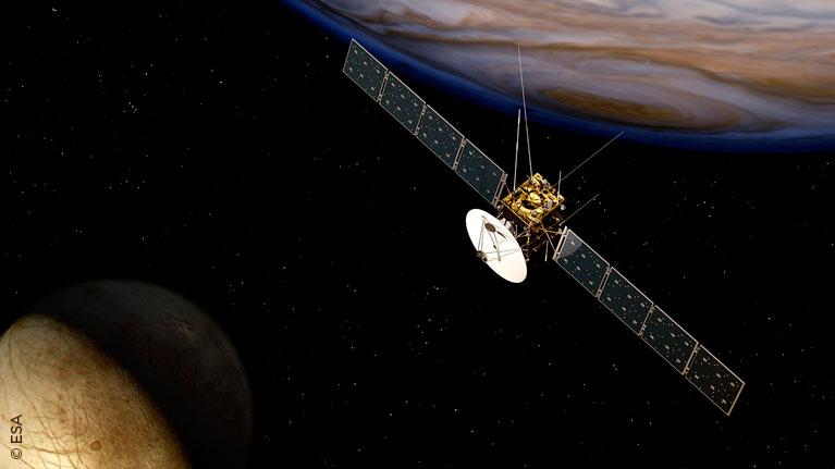 Estaldura adimendunak, PVD estaldurak, espazioko sateliteak
