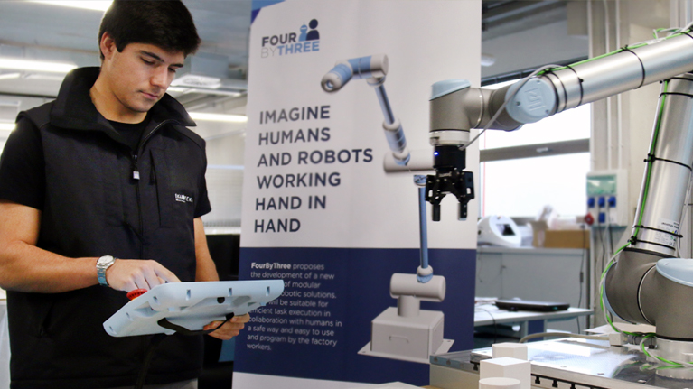 Robotika, robotak, industria, elkarlaneko robotika