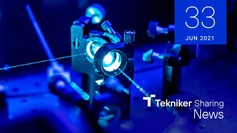 Tekniker Sharing News, newsletter, revista, ciencia, tecnología