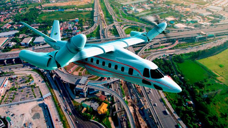Aeronave, movilidad, sostenibilidad
