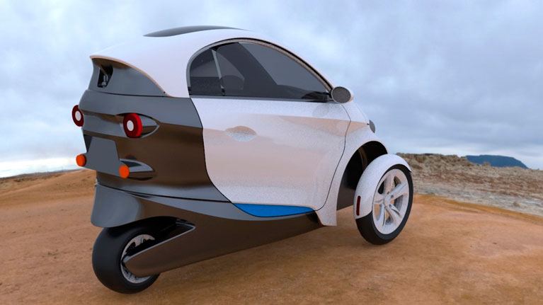 A new concept for electric vehicles